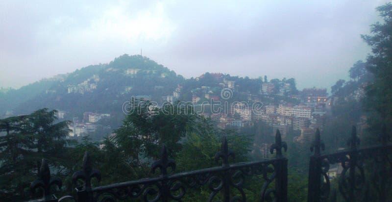 Άποψη πόλεων Simla στοκ φωτογραφία