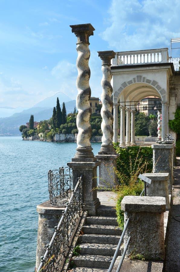 Άποψη στη λίμνη Como στοκ φωτογραφίες