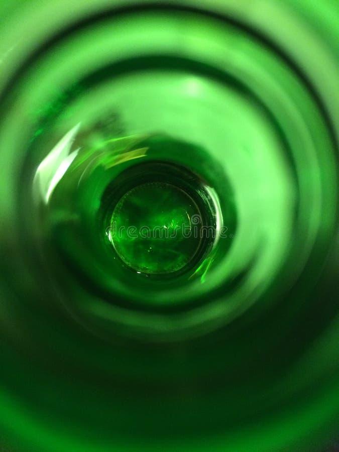 Άποψη στο μπουκάλι στοκ εικόνες με δικαίωμα ελεύθερης χρήσης