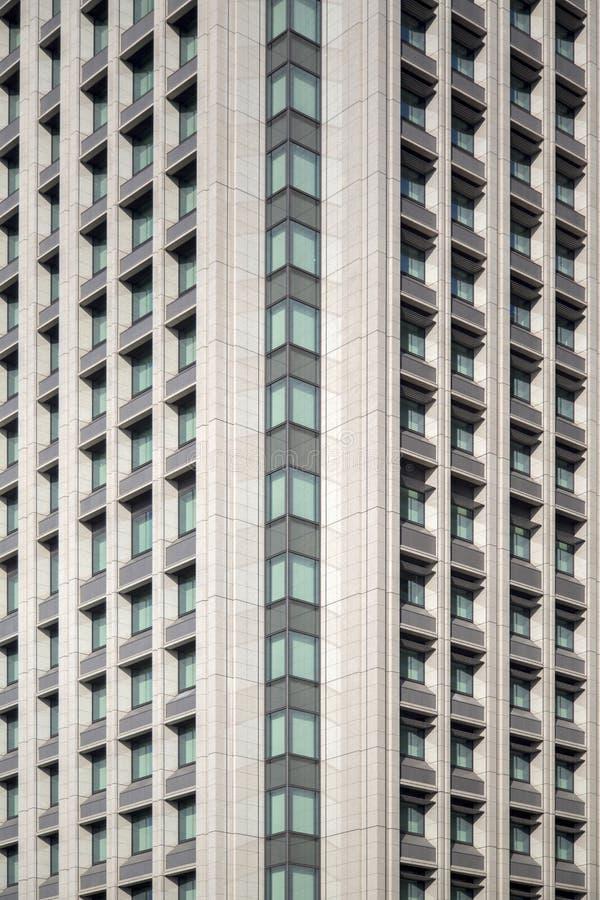 Άποψη στο σύγχρονο κτήριο στο Τόκιο, Ιαπωνία στοκ εικόνα