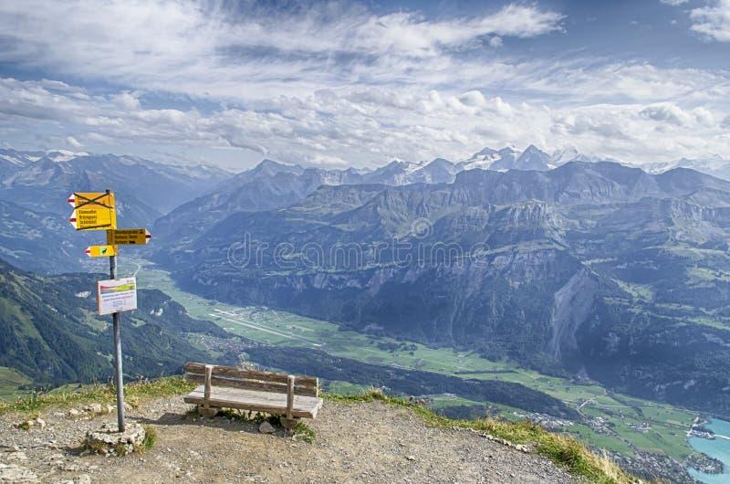 Άποψη σχετικά με την περιοχή jungfrau στοκ εικόνες