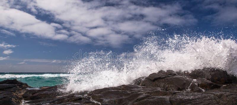 Άποψη σχετικά με τις λίμνες CHAMPAGNE στο νησί Fraser, Αυστραλία στοκ εικόνες με δικαίωμα ελεύθερης χρήσης