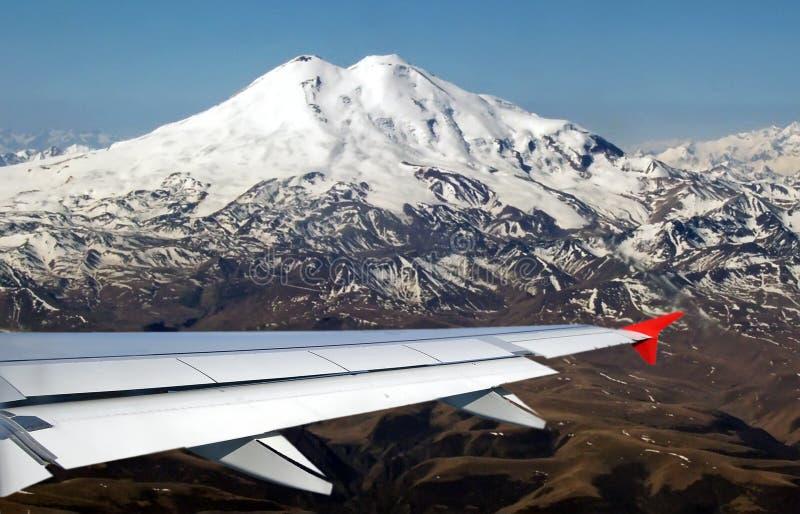 Άποψη σχετικά με το βουνό Elbrus στοκ φωτογραφία με δικαίωμα ελεύθερης χρήσης