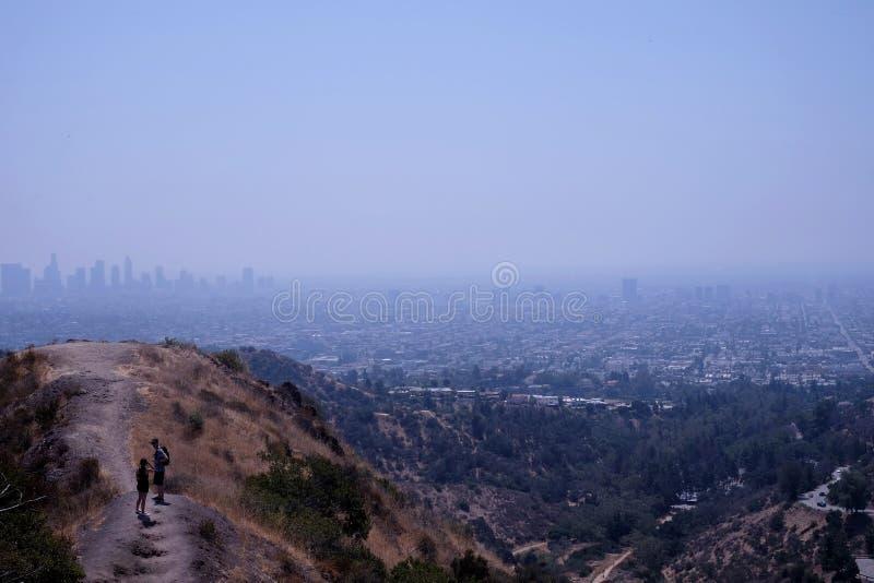 Άποψη σχετικά με το Λος Άντζελες στοκ φωτογραφίες