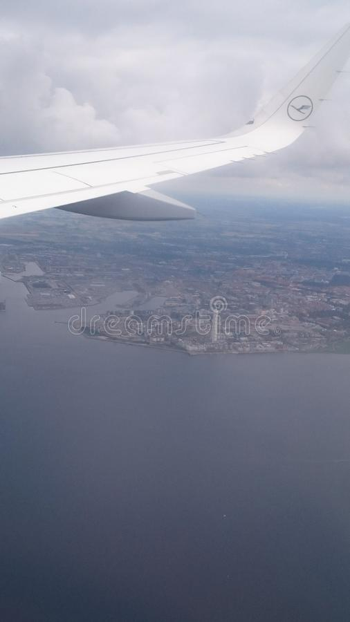 Άποψη σχετικά με Malmö Σουηδία στοκ εικόνα με δικαίωμα ελεύθερης χρήσης