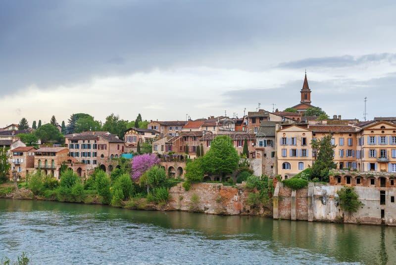 Άποψη της Άλβης, Γαλλία στοκ εικόνα