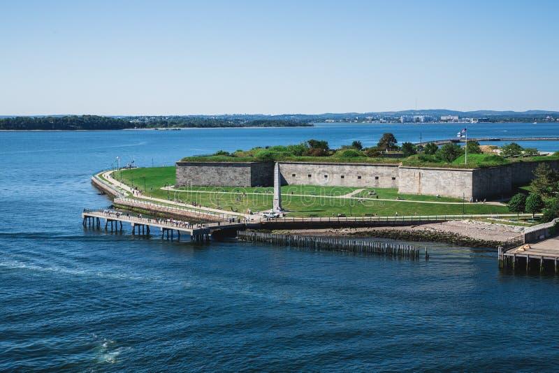 Άποψη της ανεξαρτησίας οχυρών από τη θάλασσα στοκ φωτογραφίες