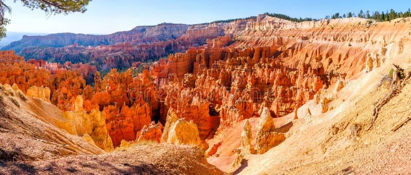 Άποψη της εθνικής κοιλάδας πάρκων φαραγγιών του Bryce στοκ εικόνες με δικαίωμα ελεύθερης χρήσης