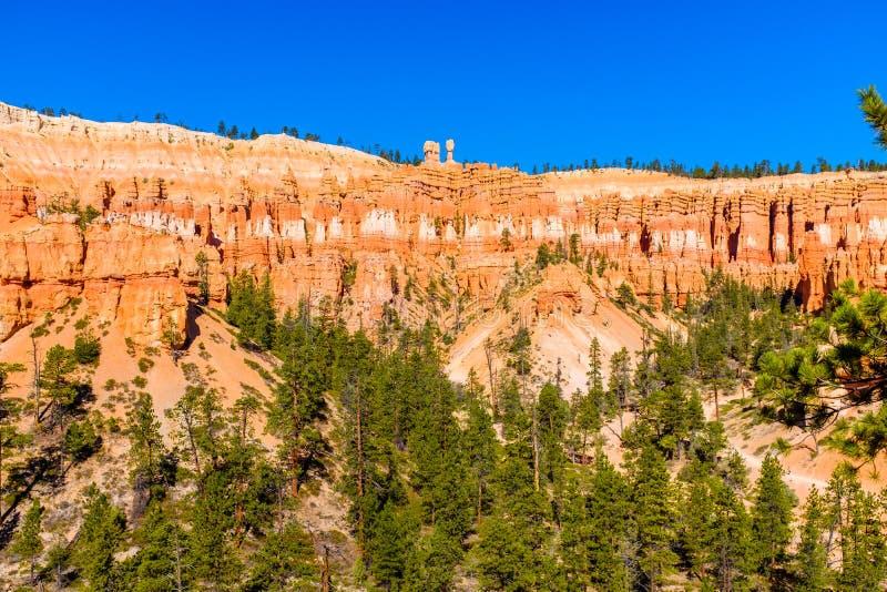 Άποψη της εθνικής κοιλάδας πάρκων φαραγγιών του Bryce στοκ φωτογραφίες με δικαίωμα ελεύθερης χρήσης