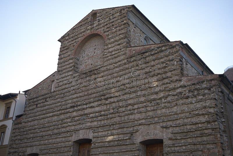 Άποψη της εκκλησίας SAN Lorenzo στοκ εικόνα με δικαίωμα ελεύθερης χρήσης