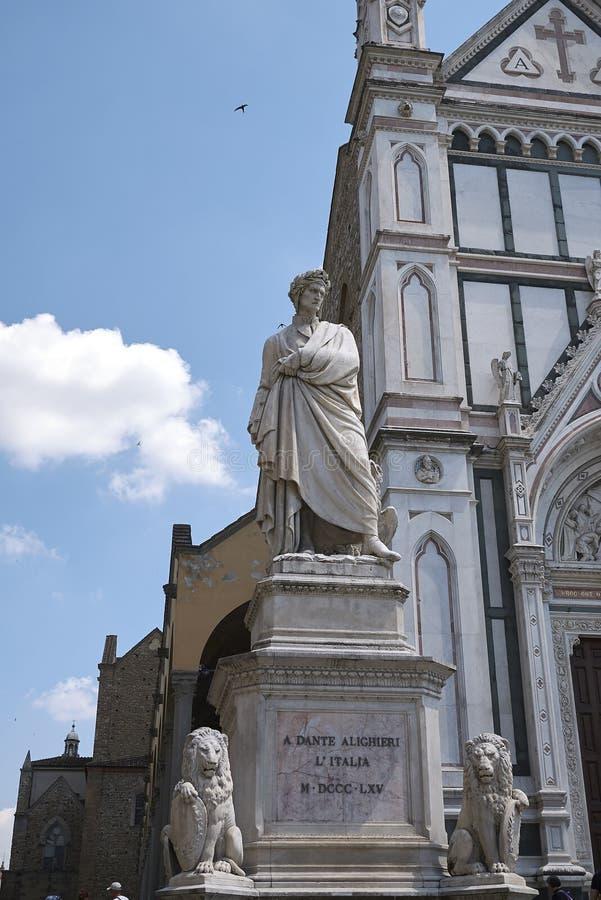 Άποψη της εκκλησίας Santa Croce στοκ εικόνα