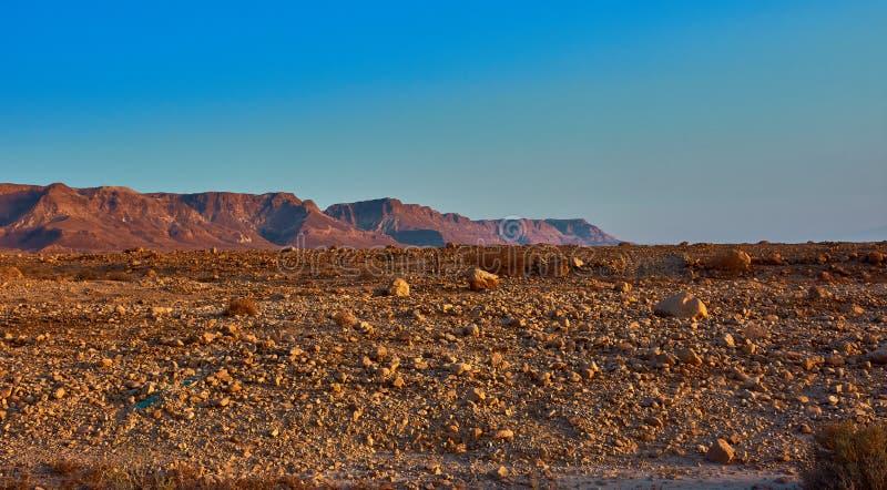 Άποψη της ερήμου Judean στο Ισραήλ στοκ φωτογραφία με δικαίωμα ελεύθερης χρήσης