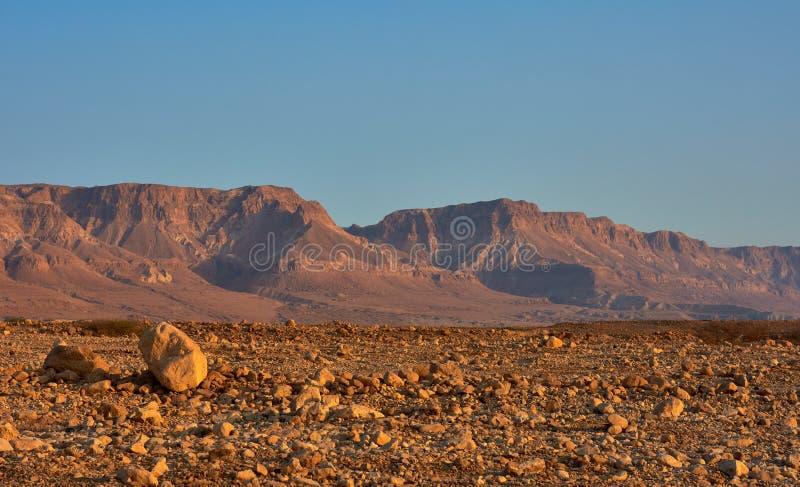 Άποψη της ερήμου Judean στο Ισραήλ στοκ φωτογραφίες