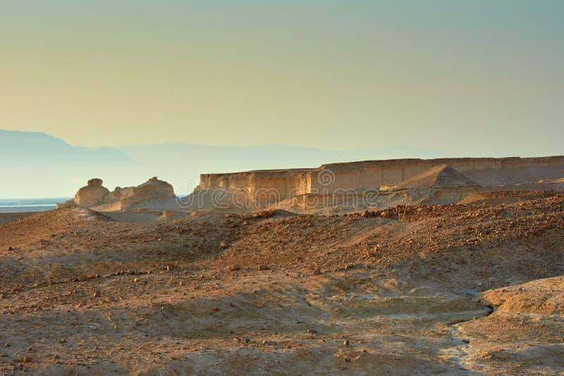 Άποψη της ερήμου Judean στο Ισραήλ στοκ εικόνες με δικαίωμα ελεύθερης χρήσης
