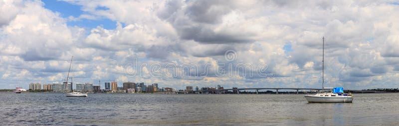 Άποψη της Λεωφόρου των Προέδρων του Ken Thompson Boat Ramp στοκ φωτογραφία