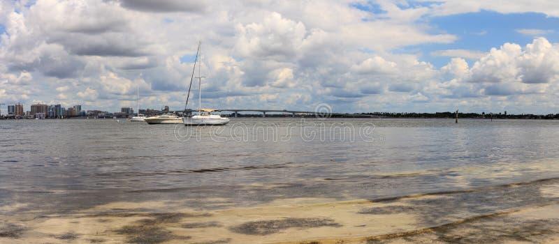 Άποψη της Λεωφόρου των Προέδρων του Ken Thompson Boat Ramp στοκ φωτογραφίες