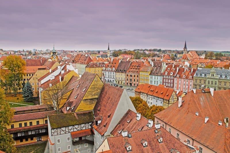 Άποψη της μεσαιωνικής πόλης Cheb, Τσεχία στοκ φωτογραφία με δικαίωμα ελεύθερης χρήσης