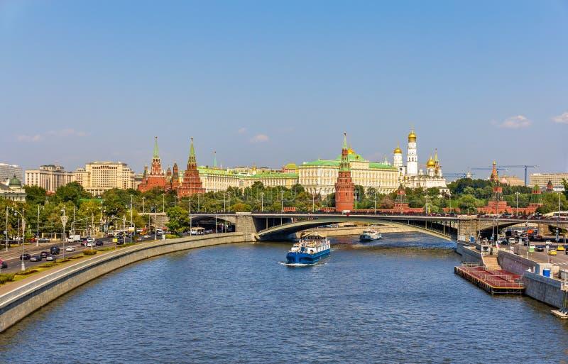 Άποψη της Μόσχας Κρεμλίνο - της Ρωσίας στοκ εικόνες με δικαίωμα ελεύθερης χρήσης