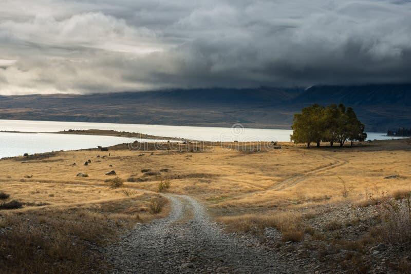 Άποψη της Νέας Ζηλανδίας στοκ εικόνες