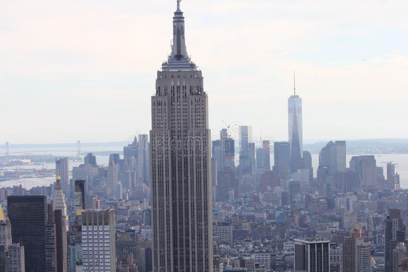 Άποψη της Νέας Υόρκης Μανχάταν στοκ εικόνες