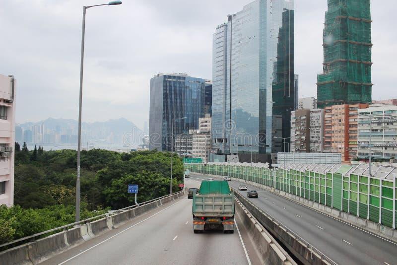 άποψη της παράκαμψης Kwun Tong, Kwun Tong στοκ φωτογραφίες με δικαίωμα ελεύθερης χρήσης
