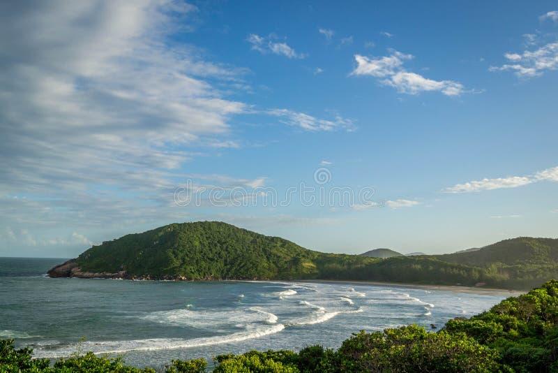 Άποψη της παραλίας Praia Vermelha στοκ φωτογραφία με δικαίωμα ελεύθερης χρήσης