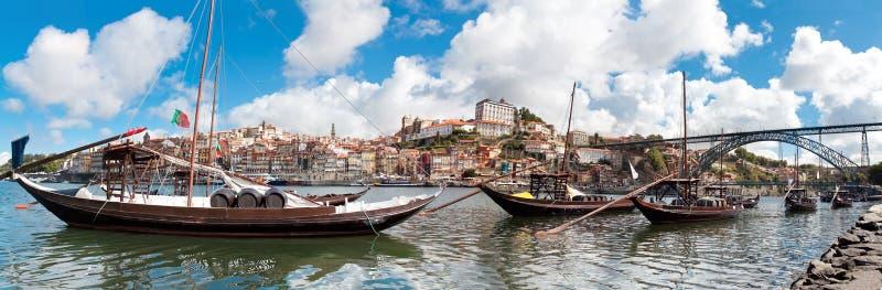 Άποψη της παλαιάς πόλης του Πόρτο, Πορτογαλία στοκ φωτογραφία με δικαίωμα ελεύθερης χρήσης