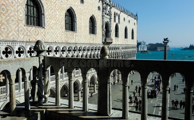 Άποψη της πλατείας SAN Marco στη Βενετία άνωθεν στοκ φωτογραφία