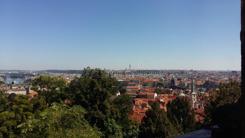 Άποψη της Πράγας στοκ εικόνες