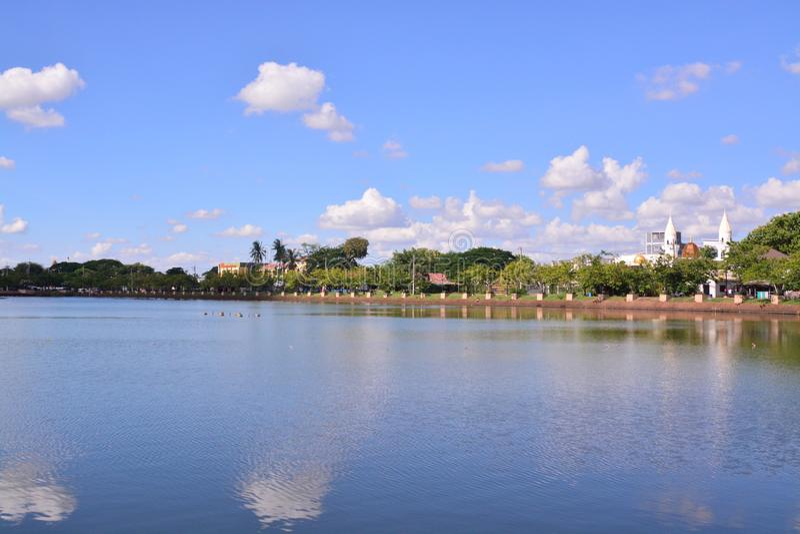 Άποψη της πόλης Buriram στοκ φωτογραφία με δικαίωμα ελεύθερης χρήσης