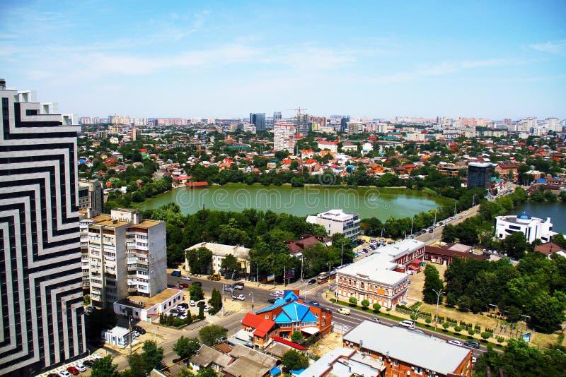 Άποψη της πόλης Krasnodar στοκ εικόνες με δικαίωμα ελεύθερης χρήσης