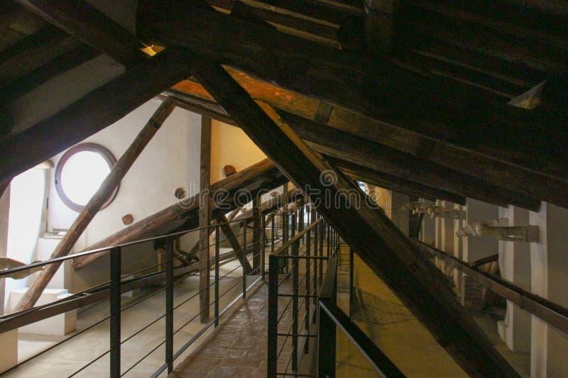 Άποψη της σοφίτας Di Σιένα Duomo Μητροπολιτικός καθεδρικός ναός της Σάντα Μαρία Assunta Τοσκάνη Ιταλία στοκ εικόνα με δικαίωμα ελεύθερης χρήσης