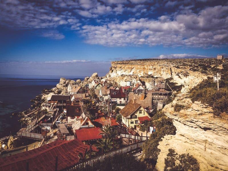 Άποψη τοπίων στη Μάλτα στοκ φωτογραφίες με δικαίωμα ελεύθερης χρήσης