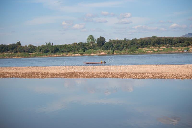 Άποψη τοπίων Mekong του ποταμού, Ταϊλάνδη στοκ φωτογραφία με δικαίωμα ελεύθερης χρήσης