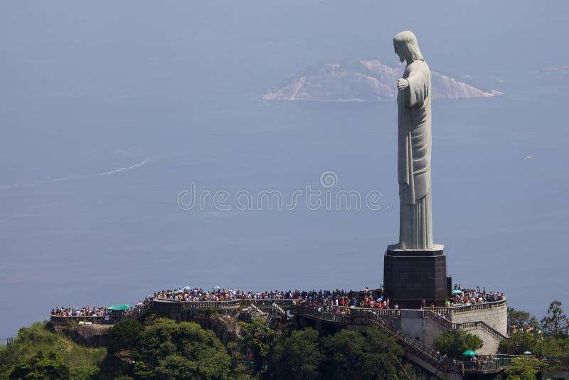 Άποψη του απελευθερωτή Χριστού στοκ φωτογραφία με δικαίωμα ελεύθερης χρήσης