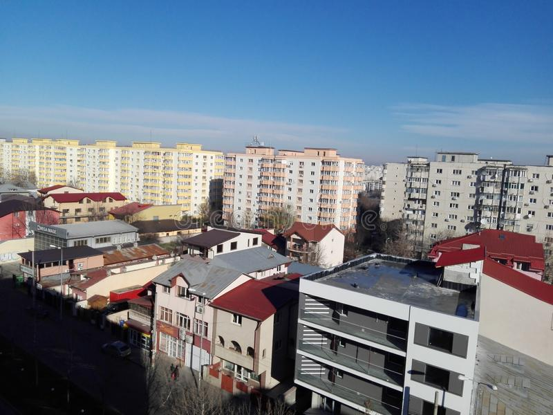 Άποψη του Βουκουρεστι'ου στοκ εικόνες
