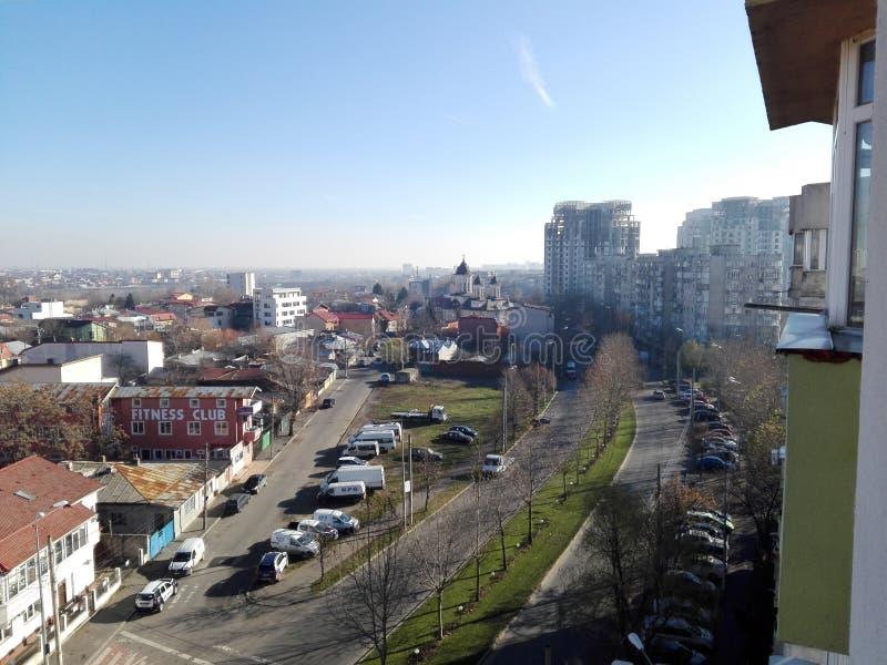 Άποψη του Βουκουρεστι'ου στοκ φωτογραφία με δικαίωμα ελεύθερης χρήσης