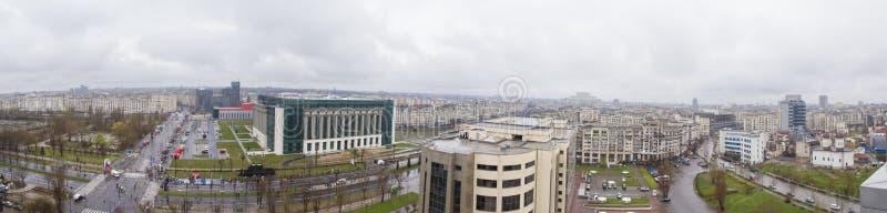 Άποψη του Βουκουρεστι'ου στοκ φωτογραφίες με δικαίωμα ελεύθερης χρήσης