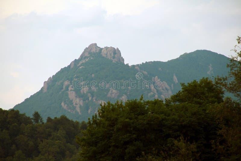 Άποψη του βουνού της Τουρκίας, περιοχή Tuapse στοκ φωτογραφίες με δικαίωμα ελεύθερης χρήσης