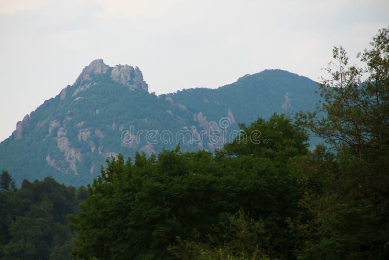 Άποψη του βουνού της Τουρκίας, περιοχή Tuapse στοκ εικόνες με δικαίωμα ελεύθερης χρήσης