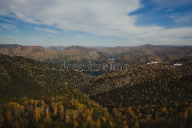 άποψη του βουνού στοκ φωτογραφίες