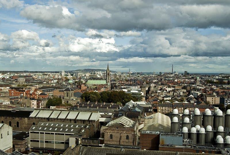 Άποψη του Δουβλίνου, Ιρλανδία στοκ φωτογραφία με δικαίωμα ελεύθερης χρήσης