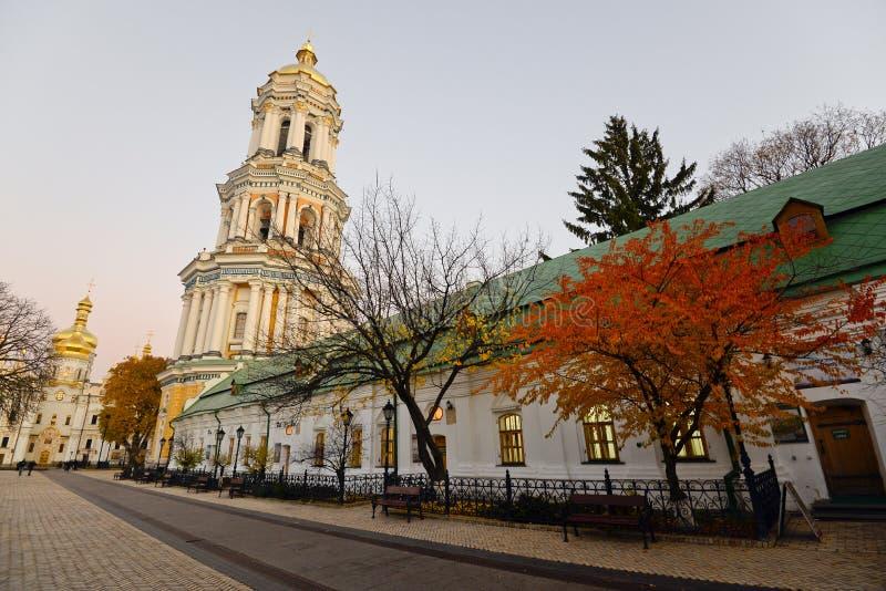 Άποψη του Κίεβου Pechersk Lavra στοκ εικόνες
