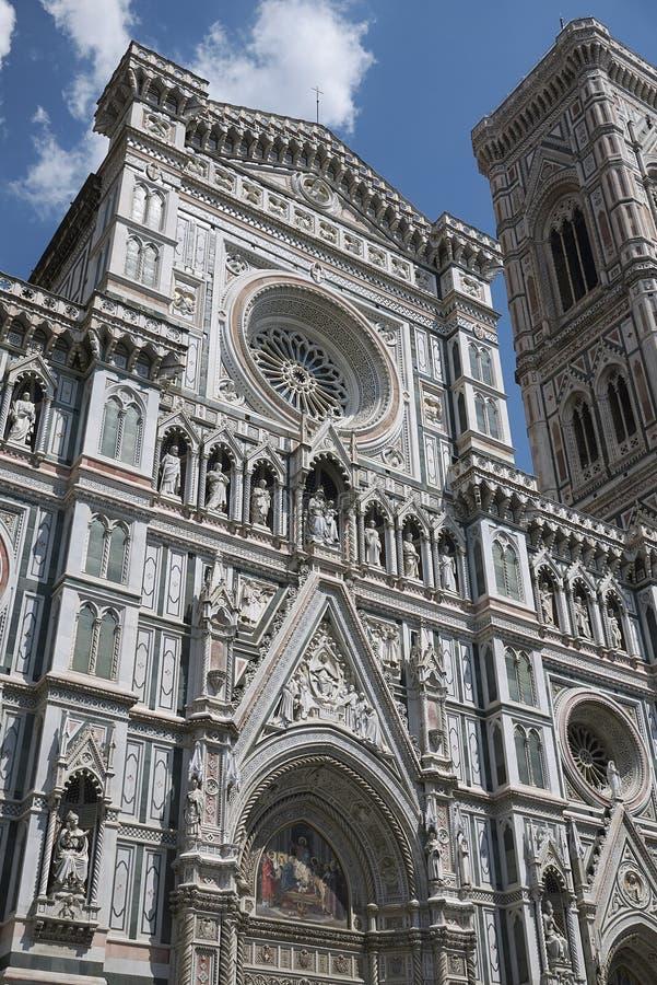 Άποψη του καθεδρικού ναού της Φλωρεντίας στοκ εικόνες με δικαίωμα ελεύθερης χρήσης