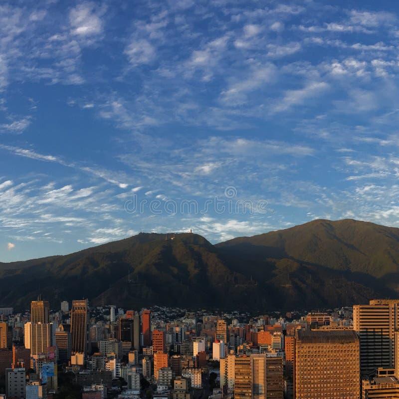 Άποψη του Καράκας στοκ εικόνες με δικαίωμα ελεύθερης χρήσης