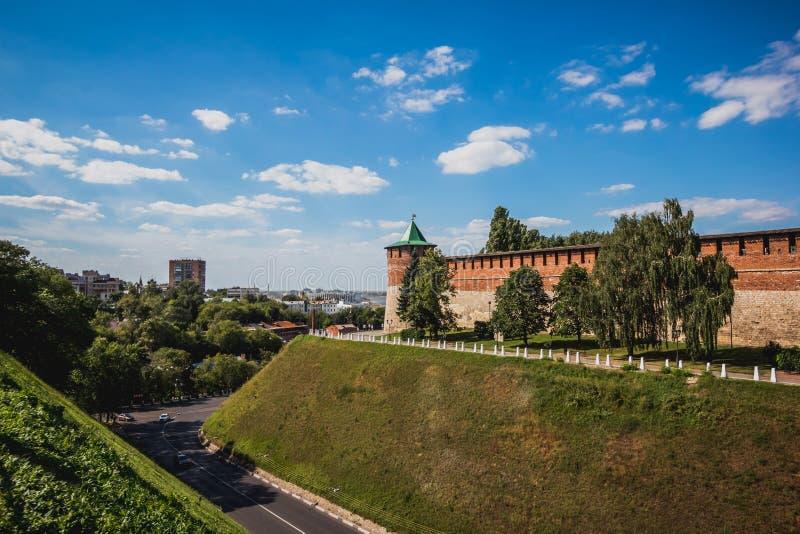 Άποψη του Κρεμλίνου Nizhny Novgorod στοκ φωτογραφίες με δικαίωμα ελεύθερης χρήσης