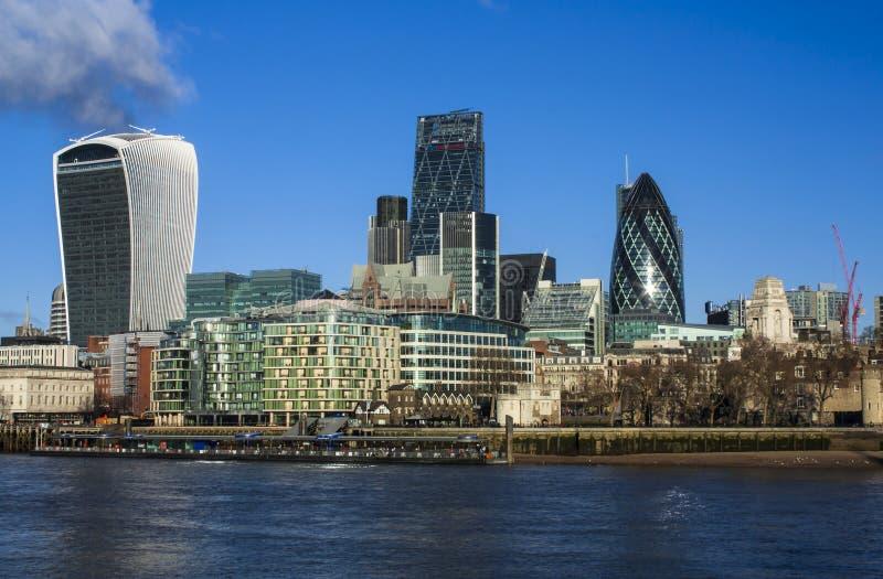 Άποψη του Λονδίνου στοκ εικόνα με δικαίωμα ελεύθερης χρήσης