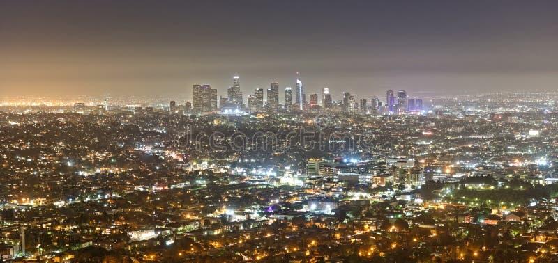 Άποψη του Λος Άντζελες από Griffith το παρατηρητήριο στοκ φωτογραφία με δικαίωμα ελεύθερης χρήσης