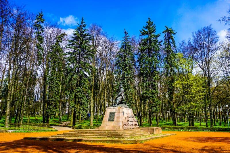 Άποψη του Μινσκ Marat Kazei στοκ φωτογραφία με δικαίωμα ελεύθερης χρήσης