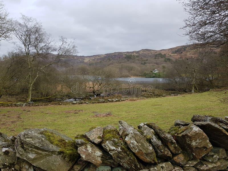 Άποψη του νερού Coniston στοκ εικόνες
